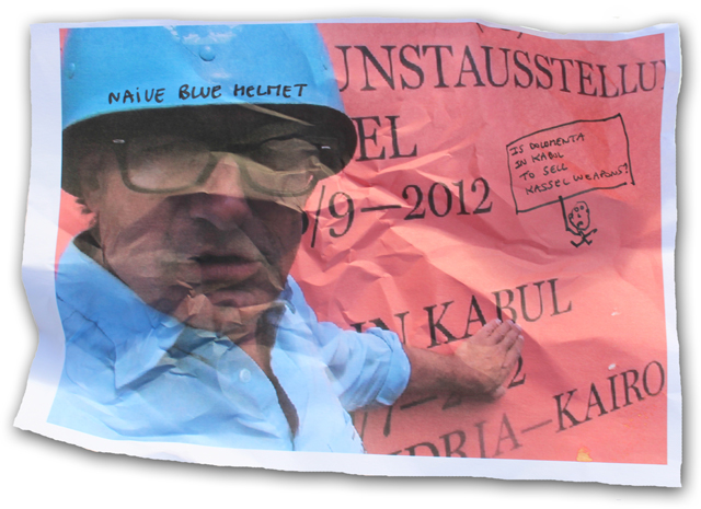 Naive Blue Helmet  2