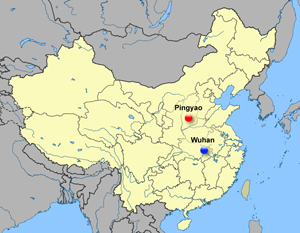 MAP Wuhan in China (300)c