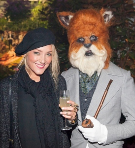 Mr Fox and friend (photo © Stu Morley)