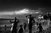 NATION 21stC - © Trent Parke - 'Five-Metre Shark, Cottesloe, Western Australia' 2003